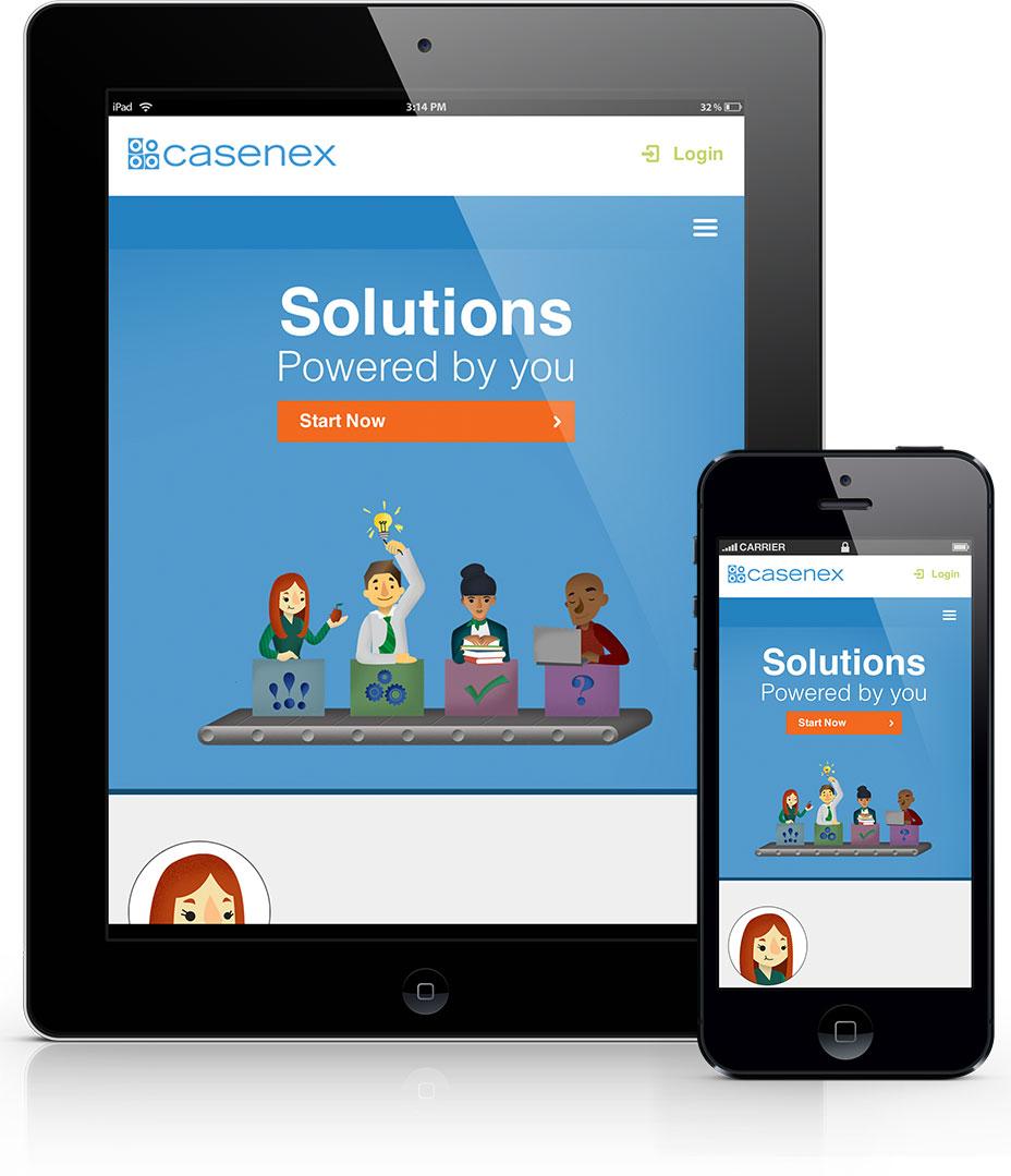 CaseNex Website Design