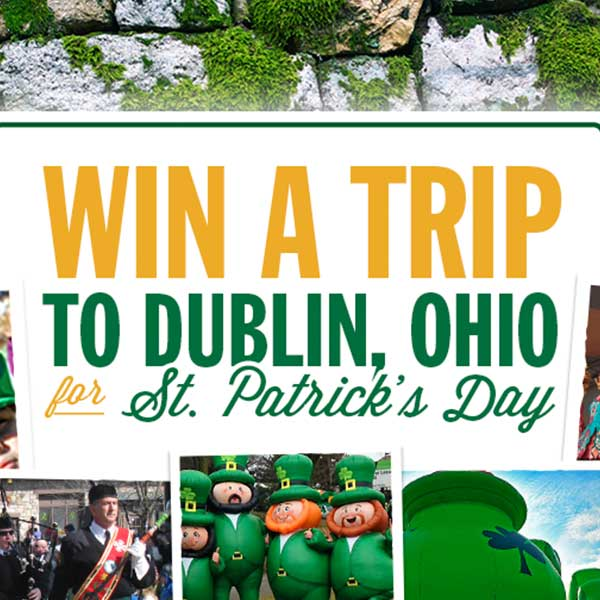 Irish is an Attitude St. Patrick's Day Contest