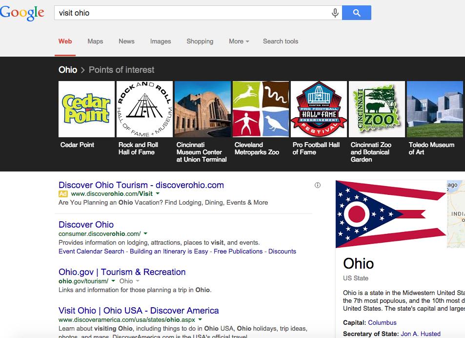 Google Search - Ohio's SEO
